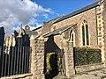 Entrance gates of Trinity Almshouses, Abergavenny, November 2018 (1).jpg