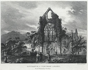 Entrance of Tintern Abbey