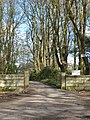 Entrance to Penwarne Estate - geograph.org.uk - 760817.jpg