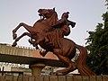 Equestrienne statue of Rani Laxmibai - panoramio.jpg