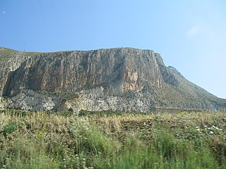 Monte Erice - The southern part of the mountain