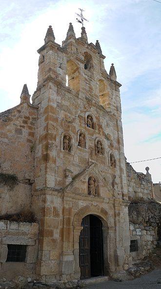Hontangas - Image: Ermita De Nuestra Señora De La Cueva Hontanga P1120801 P1120802