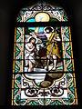 Escource (Landes) église, vitrail 07.JPG