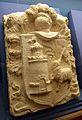 Escut heràldic de la casa de Gabriel Ciscar i Ciscar, Museu Arqueològicd'Oliva.JPG