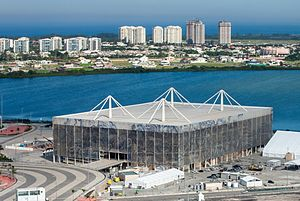 Olympic Aquatics Stadium - Image: Esportes Aquáticos Rio 2016