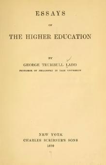 Indexessays On The Higher Educationdjvu  Wikisource The Free  Essays On The Higher Educationdjvu