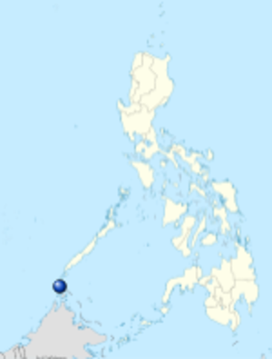 Balabac Strait - Image: Estrecho de Balábac