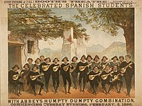 Spanish Students in New York 1880