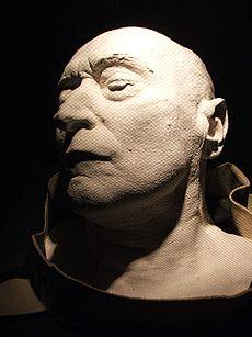 Esztergom-Mindszenty death mask