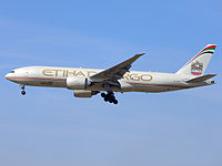 A6-DDB - B77L - Etihad Airways