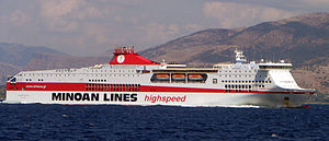 Europa Palace, SZMI, IMO 9220342, a ferry owne...