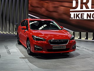 Subaru Global Platform Motor vehicle platform