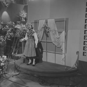 Lilla stjärna - Image: Eurovision Song Contest 1958 Alice Babs