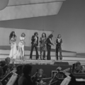 Eurovision Song Contest 1976 rehearsals - Germany - Les Humphries Singers 6.png