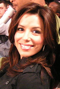 Eva Longoria at the NBA All-Star Weekend