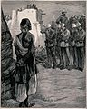 Execution of a Ghazi, or Mohammedan fanatic at the peshawur Wellcome V0041834.jpg