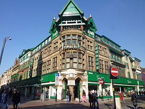 Fenwick (department store) - Fenwick store in Market Street, Leicester