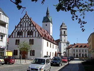 Fürstenwalde Place in Brandenburg, Germany