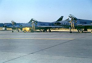 461st Flight Test Squadron - Squadron F-100Ds at Hahn AB