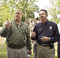 FEMA - 35634 - FEMA Administrator Paulison and Governor Culver in Iowa.jpg