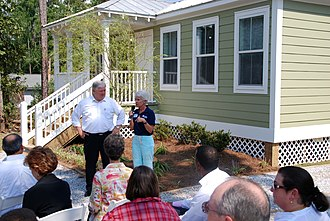 Diamondhead, Mississippi - Alternative Housing Pilot Program, which seeks alternative disaster housing solutions