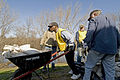 FEMA - 40907 - Volunteers in Moorhead to help Red River neighborhoods clear sandbag dikes.jpg