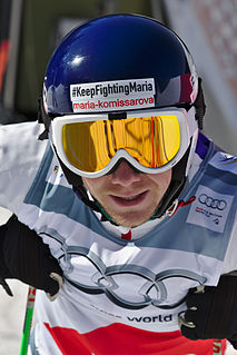 Egor Korotkov Russian freestyle skier