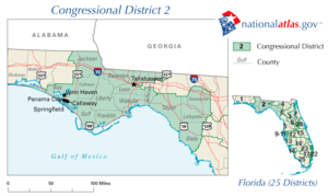 United States House of Representatives elections in Florida, 2010 - Image: FL02 109