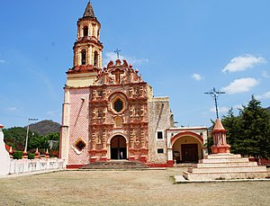 Jalpan de Serra - The mission in Tancoyol