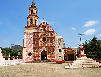 Franciscan Missions in the Sierra Gorda - Mission at Tancoyol