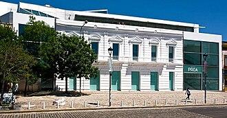 Fundación Proa - Fundacion Proa entrance.
