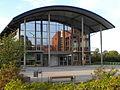 Fachhochschule Oldenburg OSTFRIESLAND Wilhelmshaven am Standort Emden (Mensa).JPG