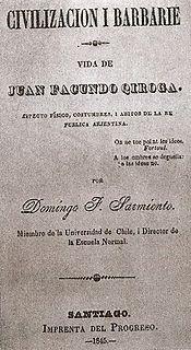 novel by Domingo Faustino Sarmiento