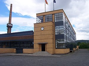 The Fagus Factory in Alfeld by Walter Gropius and Adolf Meyer (191113)