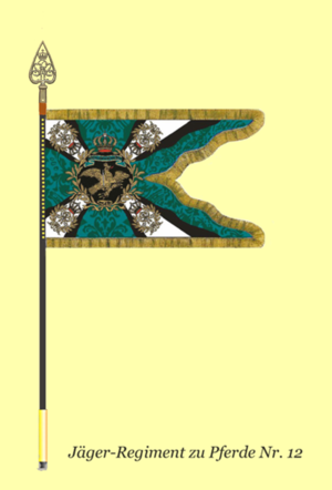 12th Mounted Rifles - The colors of the 12th Mounted Rifles