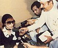 Fairuz, interview in Kuwait International Airport - 1989.jpg