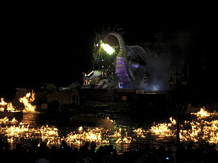 Fantasmic! finale on July 4, 2010 Fantasmic July 4.jpg