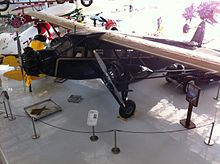 One of only two remaining Stinson Tri-Motors.