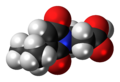 Farinomalein molecule spacefill.png