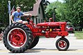 Farmall Super C narrow front in Chilton WI parade.jpg