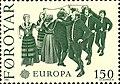 Faroe stamp 057 europe (faroese dance - bandadansur).jpg
