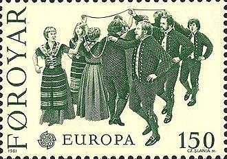 Faroese dance - Bandadansur - the ribbon dance