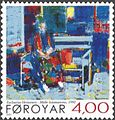 Faroe stamp 396 zacharias heinesen - the artist's mother.jpg