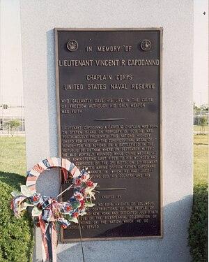 Vincent R. Capodanno - Memorial to Father Vincent Capodanno