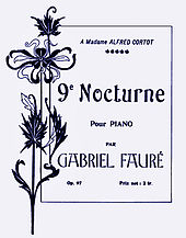 title page of sheet music