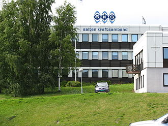 Fauske - Several power companies have offices in Fauske