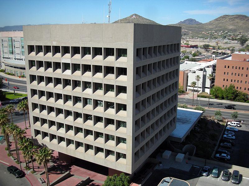 file federal building  tucson  az  2007