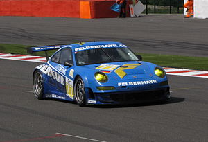 Proton Competition - Team Felbermayr-Proton Porsche 997 GT3-RSR at the 2009 1000 km of Spa