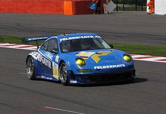 2009 Le Mans Series - Marc Lieb and Richard Lietz won the GT2 class title for Felbermayr-Proton.
