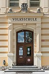 Feldkirchen Schulhausgasse 1 Volksschule Portal 15092015 7400.jpg